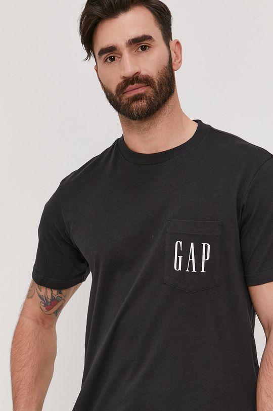 czarny GAP - T-shirt