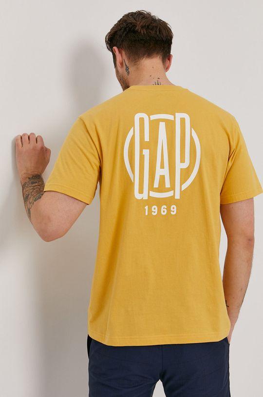žlutá GAP - Tričko Pánský