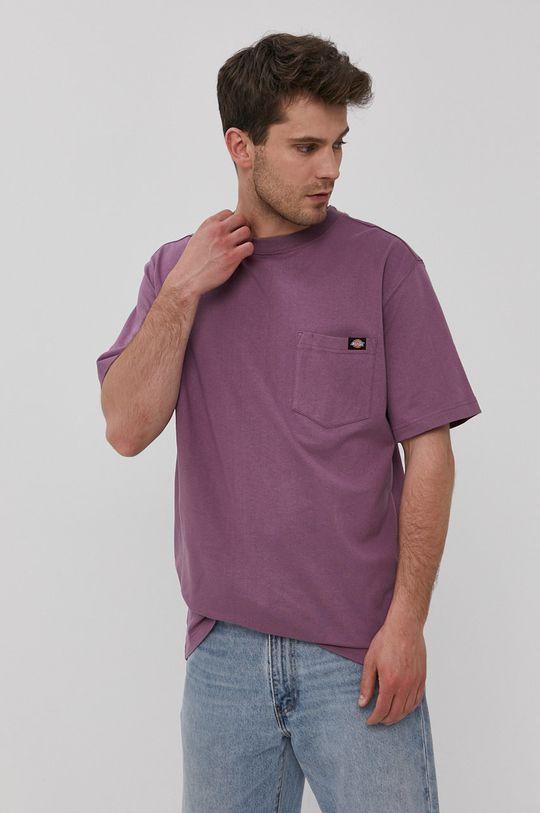 winogronowy Dickies - T-shirt Męski