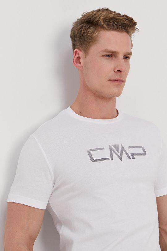 biały CMP - T-shirt Męski