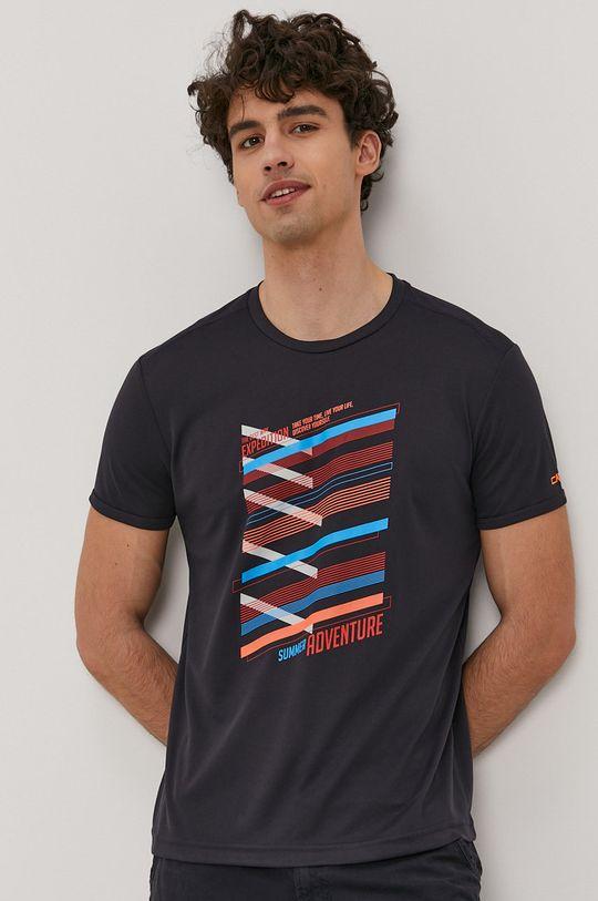 granatowy CMP - T-shirt Męski