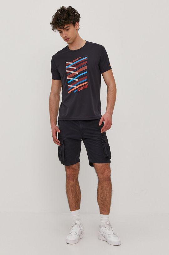 CMP - T-shirt granatowy