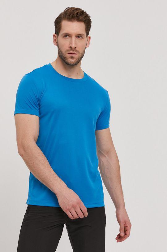 niebieski CMP - T-shirt Męski