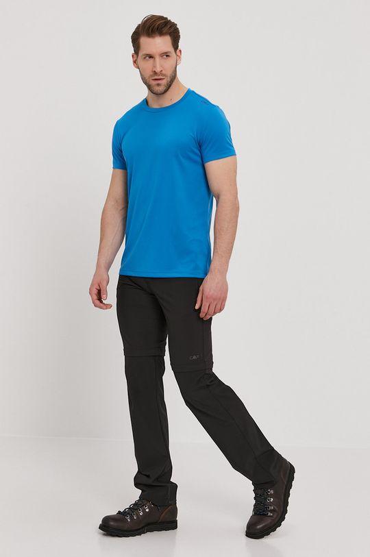 CMP - T-shirt niebieski