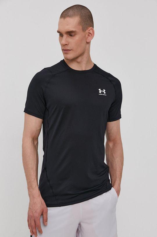 czarny Under Armour - T-shirt Męski