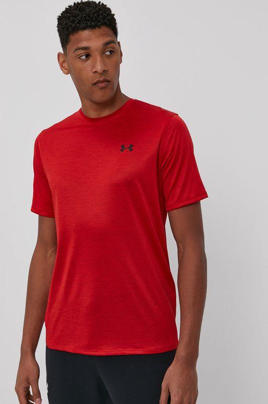 czerwony Under Armour - T-shirt