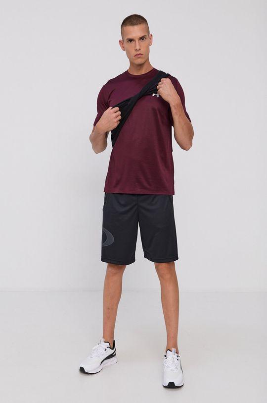 Under Armour - T-shirt mahoniowy