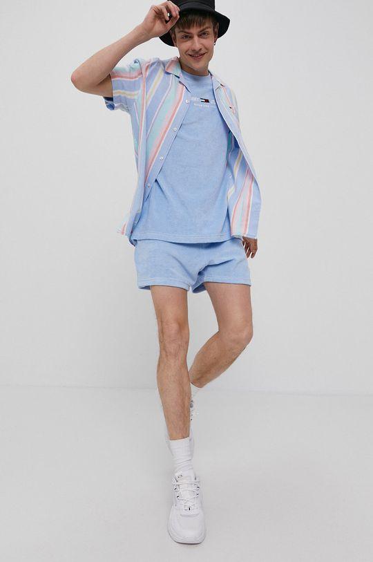 Tommy Jeans - T-shirt niebieski