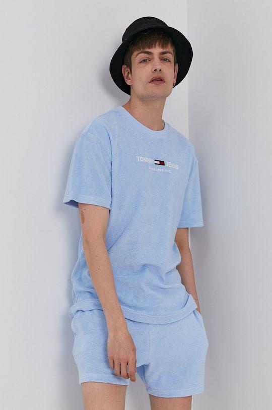 niebieski Tommy Jeans - T-shirt