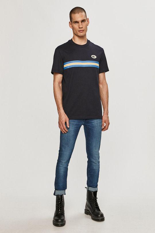 Lacoste - T-shirt granatowy