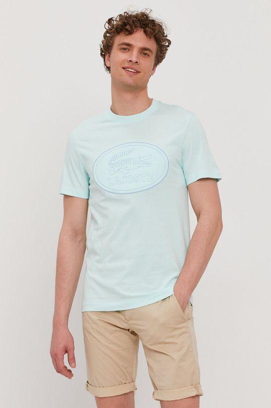 svetlá tyrkysová Lacoste - Tričko Pánsky