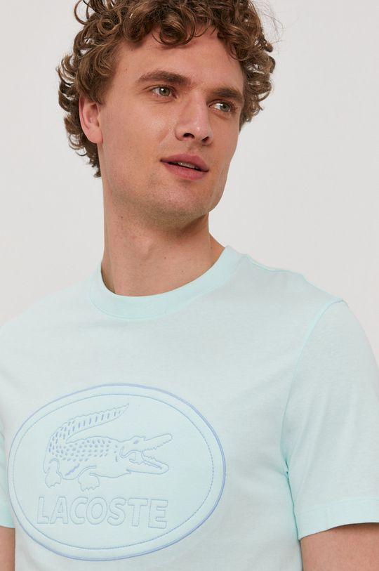 svetlá tyrkysová Lacoste - Tričko