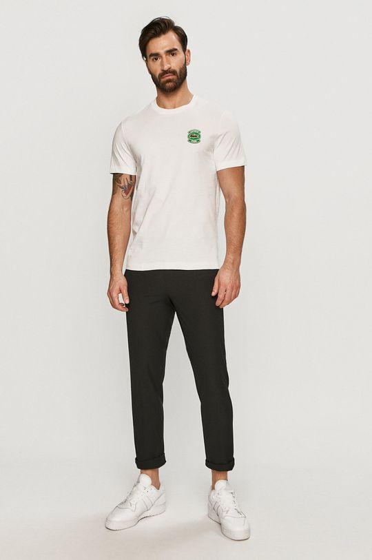 Lacoste - Tričko bílá