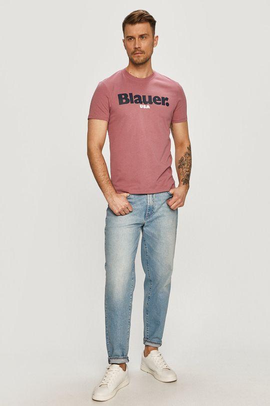 Blauer - Tričko růžová