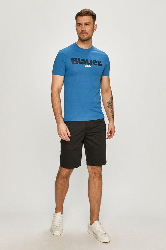 Blauer - T-shirt niebieski