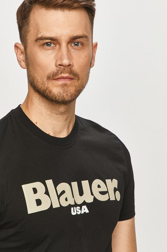 černá Blauer - Tričko