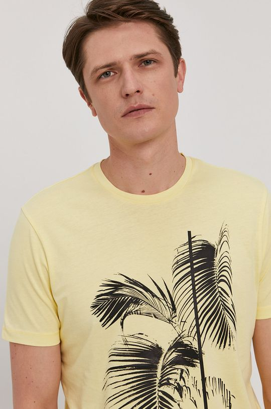 żółty Strellson - T-shirt
