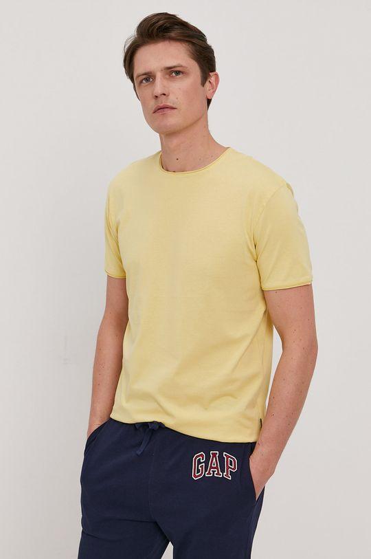žlutá Strellson - Tričko Pánský
