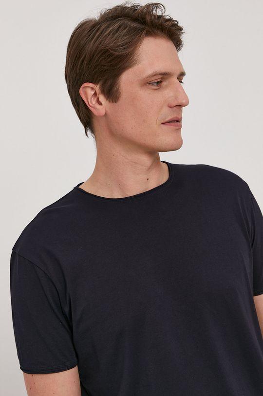 granatowy Strellson - T-shirt