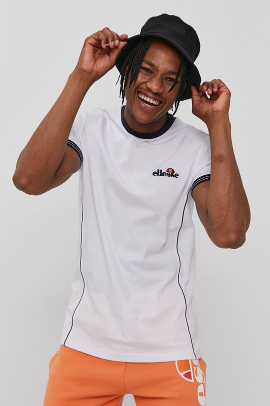 biały Ellesse - T-shirt Męski
