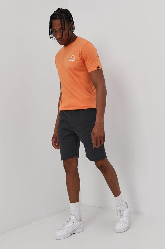 Ellesse - T-shirt pomarańczowy