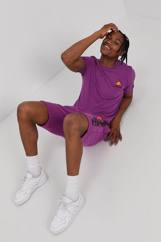 Ellesse - T-shirt fioletowy