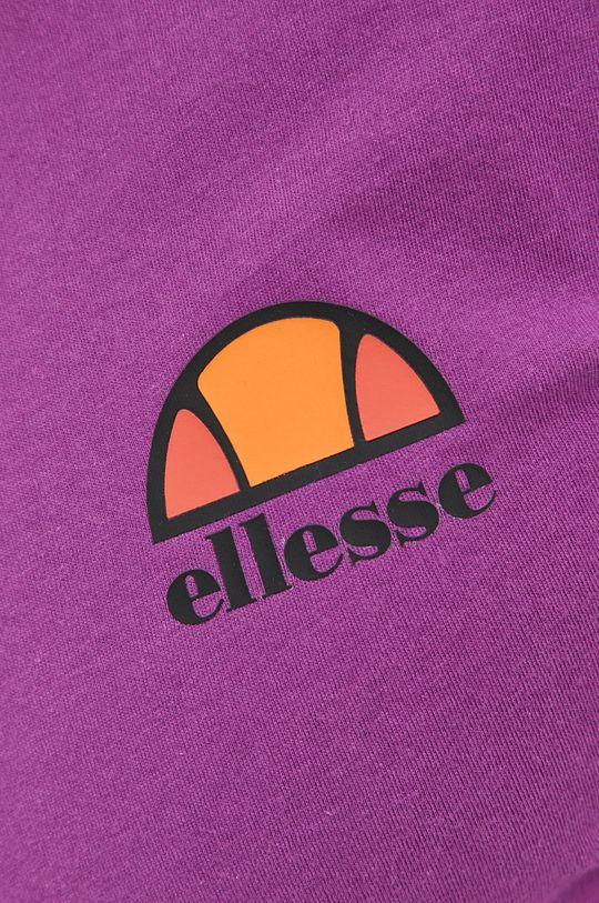 fioletowy Ellesse - T-shirt