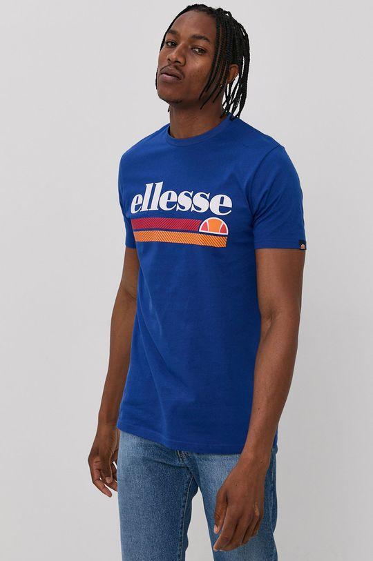 modrá Ellesse - Bavlnené tričko