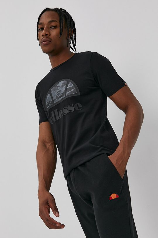 negru Ellesse - Tricou De bărbați
