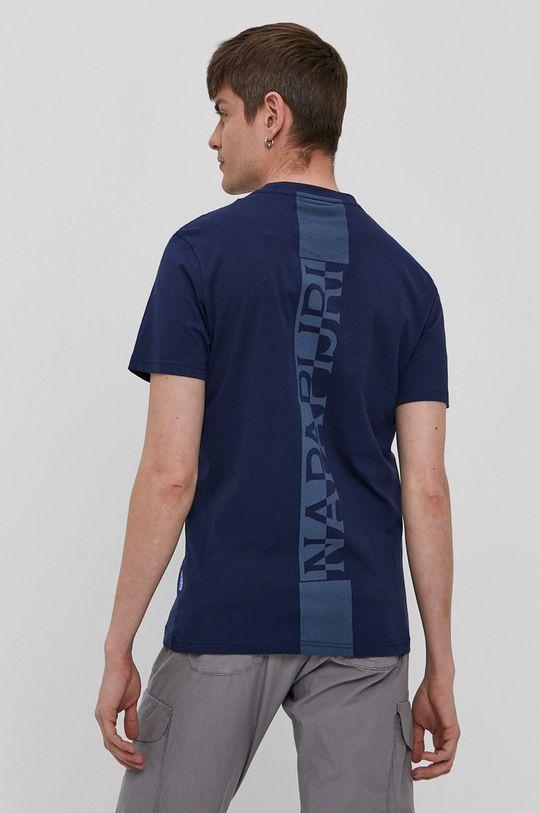 Napapijri - T-shirt Materiał zasadniczy: 100 % Bawełna, Ściągacz: 95 % Bawełna, 5 % Elastan
