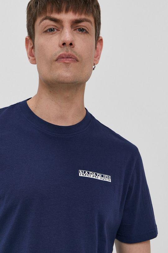 granatowy Napapijri - T-shirt