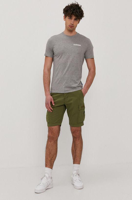 Napapijri - Tričko šedá