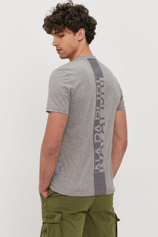 Napapijri - Tričko  Hlavní materiál: 100% Bavlna Stahovák: 95% Bavlna, 5% Elastan