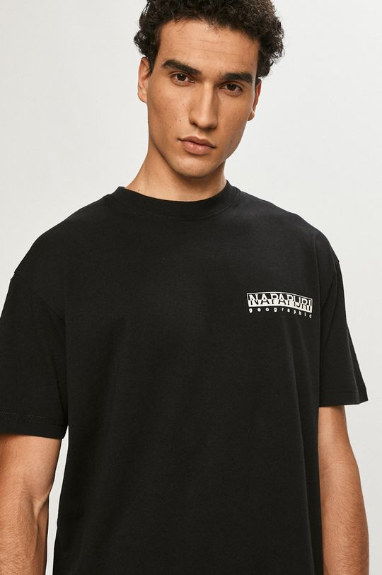 czarny Napapijri - T-shirt