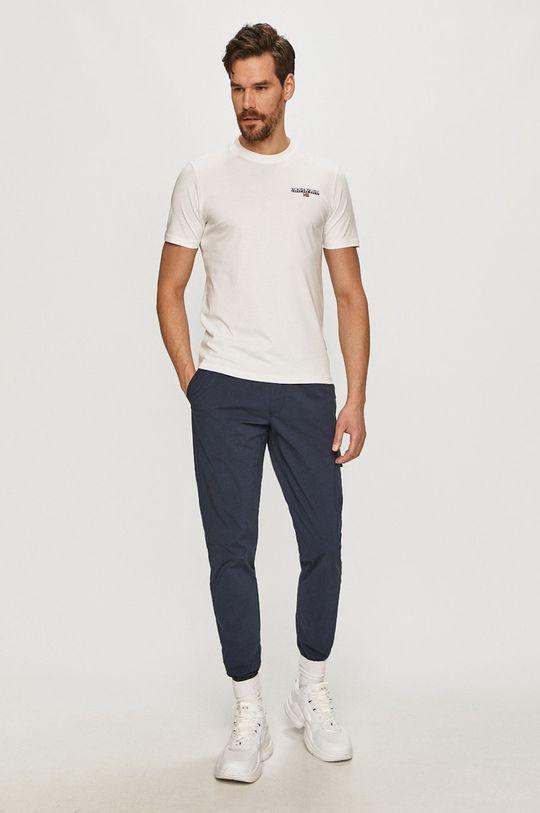 Napapijri - T-shirt biały
