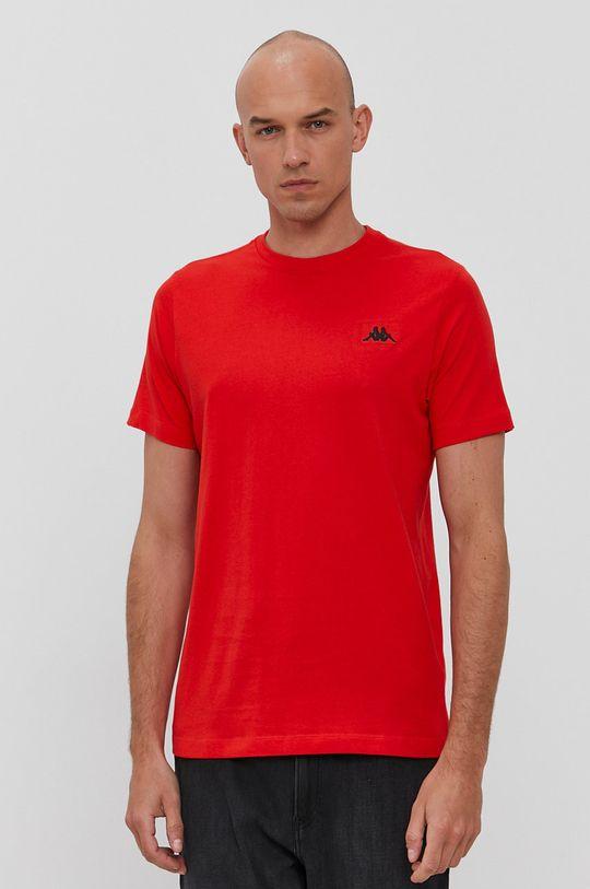 červená Kappa - Tričko Pánský