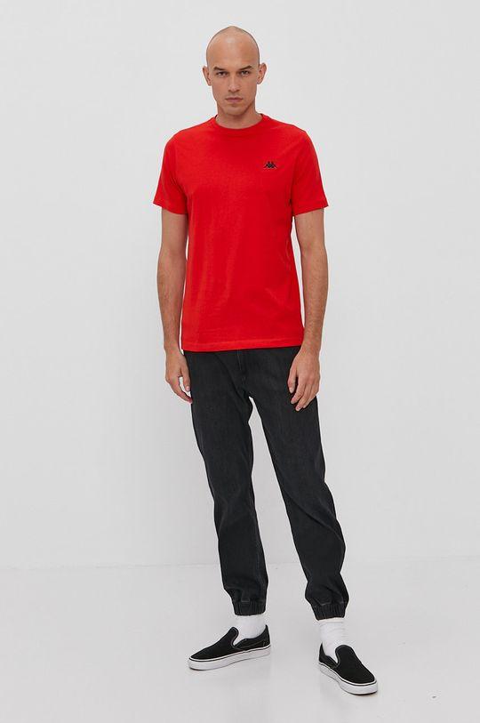Kappa - Tričko červená