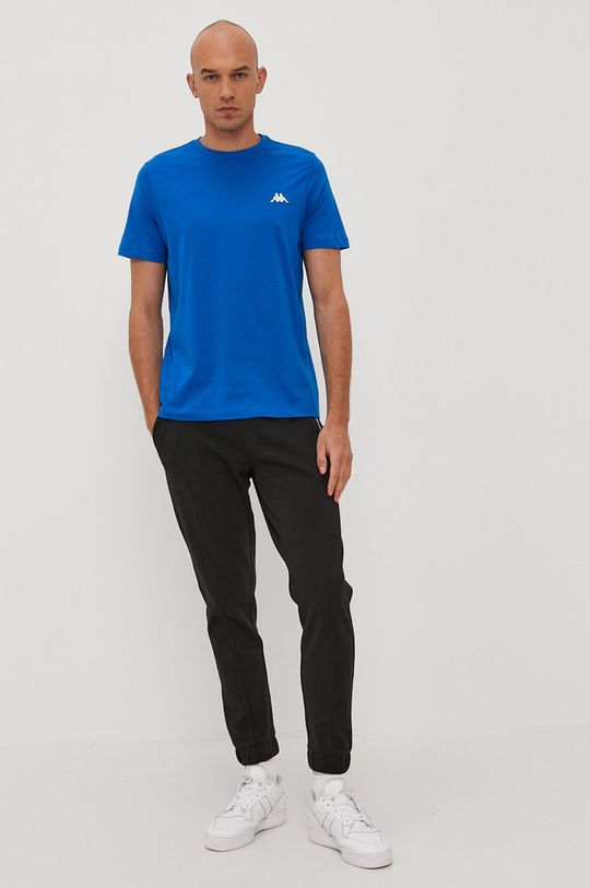 Kappa - T-shirt niebieski