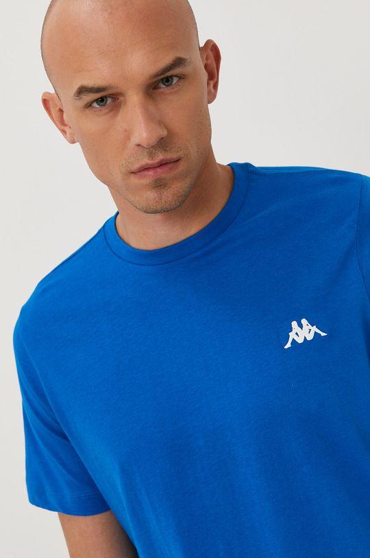 niebieski Kappa - T-shirt