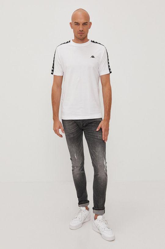 Kappa - T-shirt biały