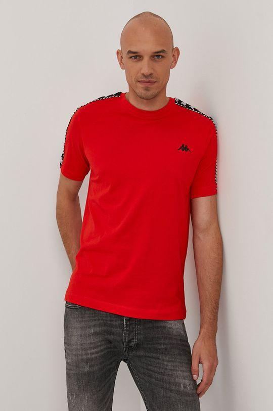 červená Kappa - Tričko Pánsky
