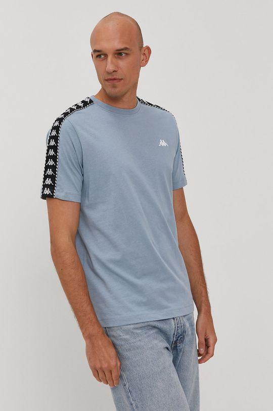 Kappa - T-shirt jasny niebieski