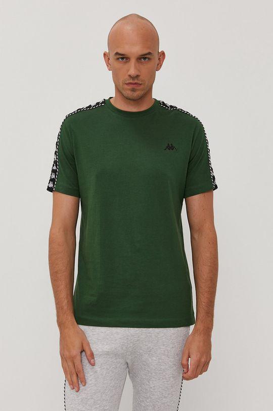 zielony Kappa - T-shirt Męski