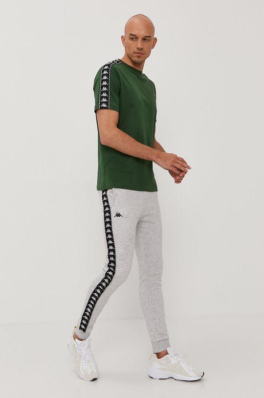 Kappa - T-shirt zielony