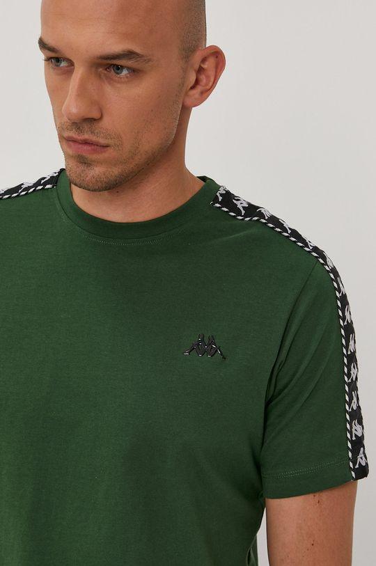 zielony Kappa - T-shirt