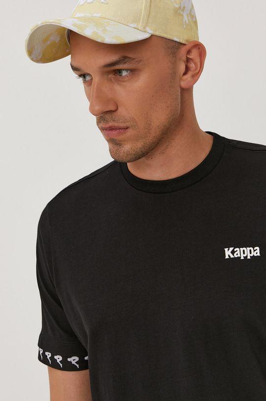 černá Kappa - Tričko Pánský