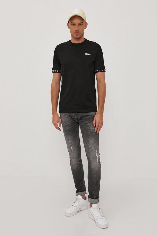 Kappa - Tričko černá