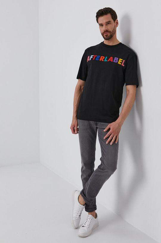 After Label - T-shirt czarny