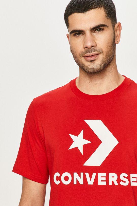 czerwony Converse - T-shirt