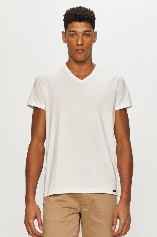 biały Lee - T-shirt (2-pack)